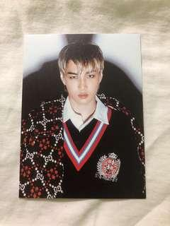 EXO KAI Don't Mess Up My Tempo DMUMT Official Postcard