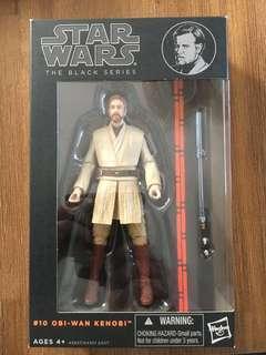 Star Wars Black Series Obi Wan Kenobi. Case Fresh! Unopened! Price reduced!