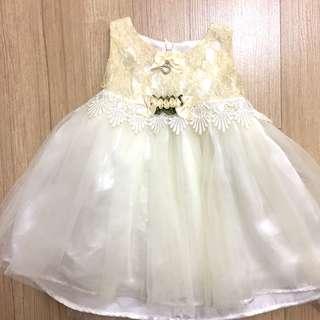 LOVELY LACE BABY Mini Gown Dinner Flower Girl Dress