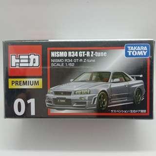 TP 01 Nissan Skyline GT-R Z-Tune R34 (Tomica Premium)