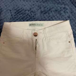 CLASSY Stradivarius White Skinny Jeans