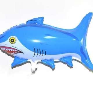 Balon Foil Ikan Hiu Biru Shark 0438