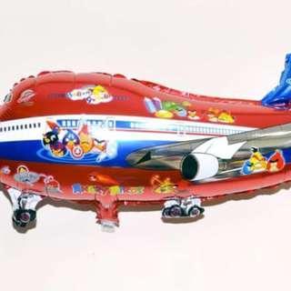 Balon Foil Pesawat Angry Bird 0430