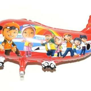 Balon Foil Pesawat BoboBOI 0437