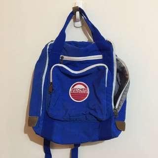 🚚 Skechers 寶藍色 後背包
