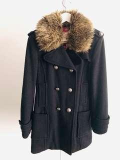 Aritzia Winter Coat with Fur