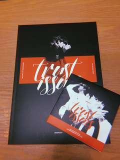 JUNGKOOK (BTS) Snowpeach photobook: Trust Issues + CD