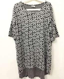 Big Size Long Tee