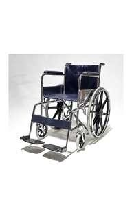 "Wheelchair BION Standard Chrome 24"" Wheels"