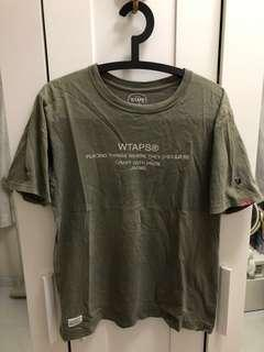 Wtaps 日本製 HK special edition  tee
