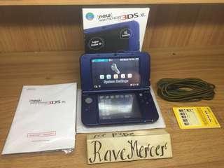 New Nintendo 3DS XL CFW Metallica Blue