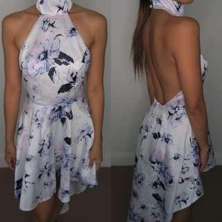 Showpo White Floral Dress