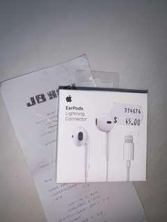Apple Earpods (free shipping)