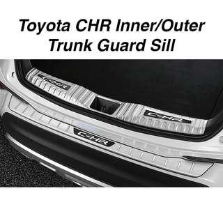 Toyota CHR Inner/ Outer Trunk Guard Sill Plate (2pcs)