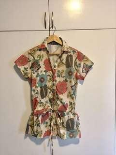MNG Floral Summer Top