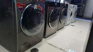LG Frontload Inverter Washers for sale!! 100% and 80% Dry