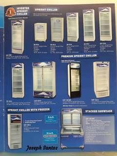 Fujidenzo Upright Chillers and Freezers for sale!!