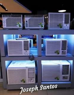 Fujidenzo Window Aircons for sale!! .6hp to 2.5hp