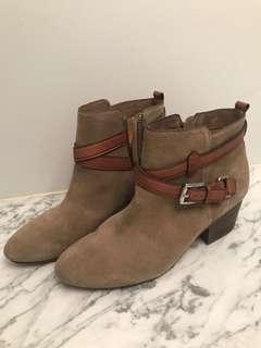 Authentic Coach Booties 8.5
