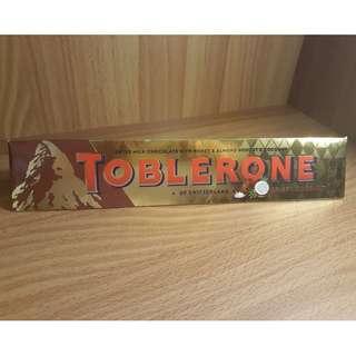 Buy1 Take1 Toblerone Milk Chocolate with Honey & Almond Nougat & Coconut