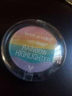 🚚 Wet and wild rainbow highlighter