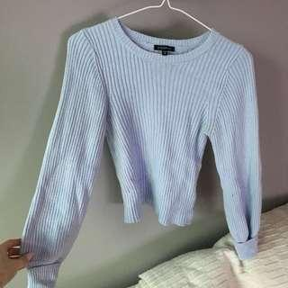 XS Blue Dynamite Sweater