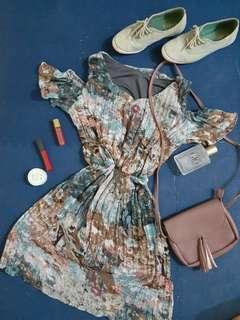 Printed Flowy Dress 👑 REPRICED!!