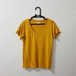 Mustard yellow shirt