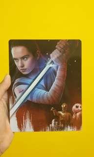 Star Wars The Last Jedi 4K Blu Ray Steel Series