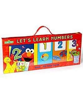 🚚 Sesame Street Let's Learn numbers new and sealed