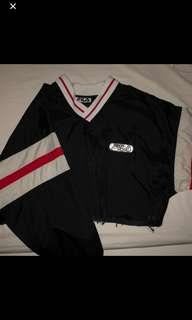 FILA windbreaker crop sweater