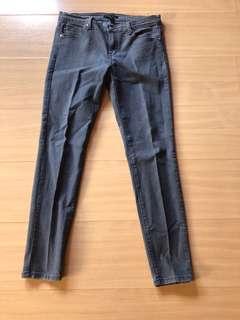 F21 black denim pants size 28