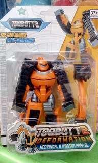 Mainan tobot deformation