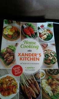 Buku masak Xanderskitchen preloved