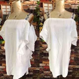 Cold shoulder dress size m-l