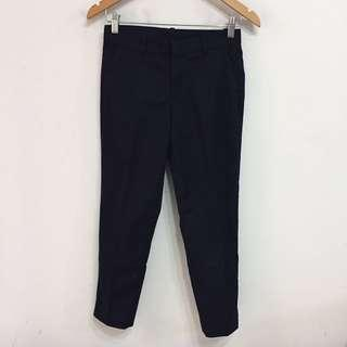 UNIQLO navy chino pants