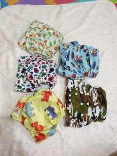 REPRICED: Preloved Cloth Diapers