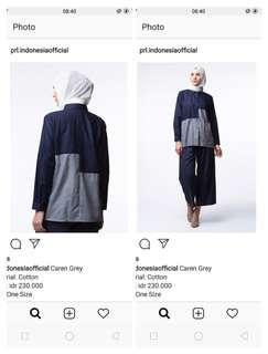 Kemeja brand prl indonesia, ld 102 , pjg 66 harga beli 230rb jual 75