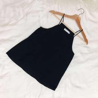 🚚 dark blue halter top