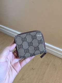 Authentic Preloved Gucci Coin Case