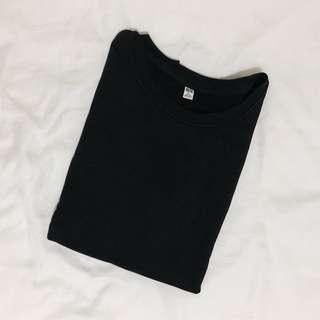 🚚 uniqlo black pullover/sweater