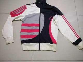 Adidas jacket sweater bunga trefoil