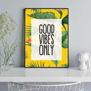 #MFEB20 Good Vibes Only - Poster