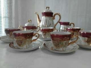 Tea set Espresso Motif Naga