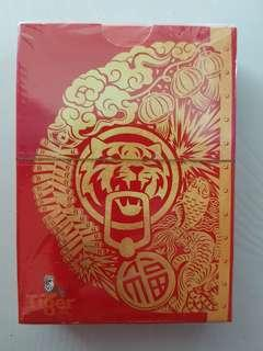 BNIB Tiger beer poker card