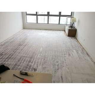 VINYL flooring lantai timber korean 22