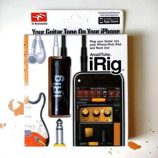 iRig AmpliTube iPhone 電結他effect