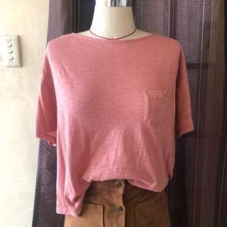 Uniqlo Blush Top