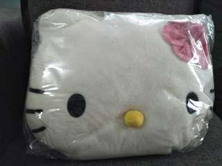 hello kitty face pillow