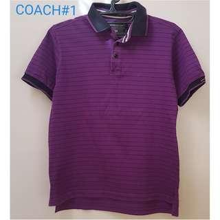 Coach Polo Shirt for Men(#1)